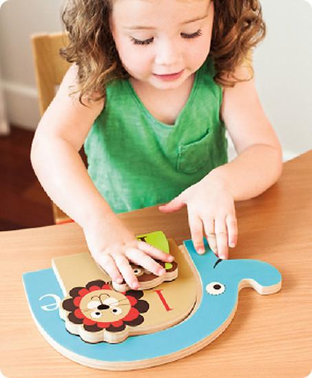Skip Hop Alphabet Zoo Nesting Animal Puzzle-2