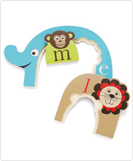 Skip Hop Alphabet Zoo Nesting Animal Puzzle-3