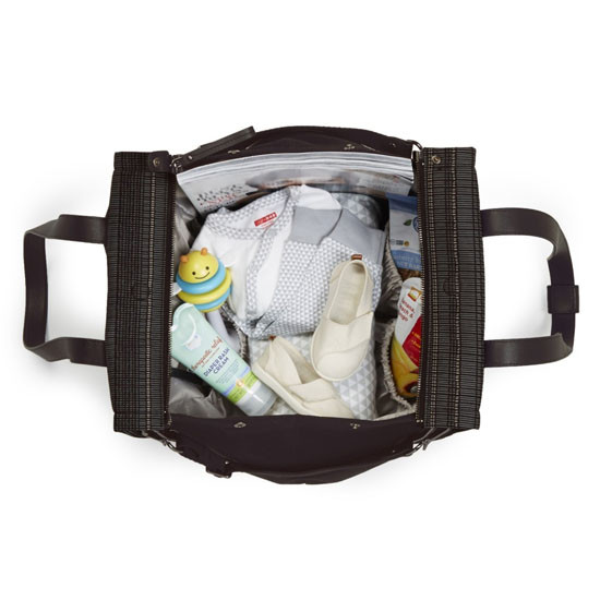 Skip Hop Highline Diaper Tote - Black Granite-2