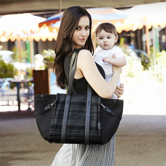 Skip Hop Highline Diaper Tote - Black Granite-3