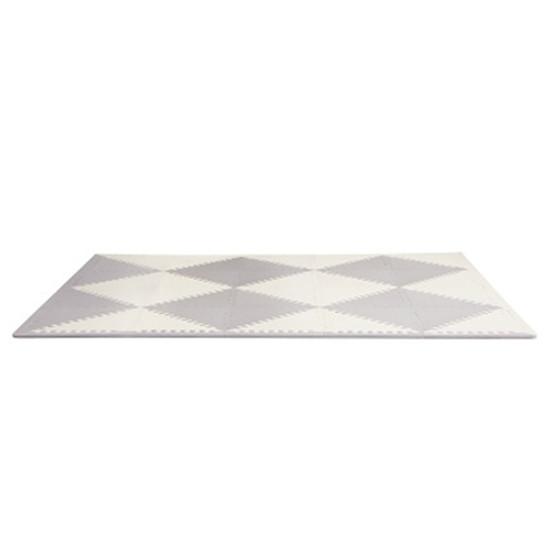 Skip Hop Playspot Geo - Interlocking Foam Tiles - Grey/Cream