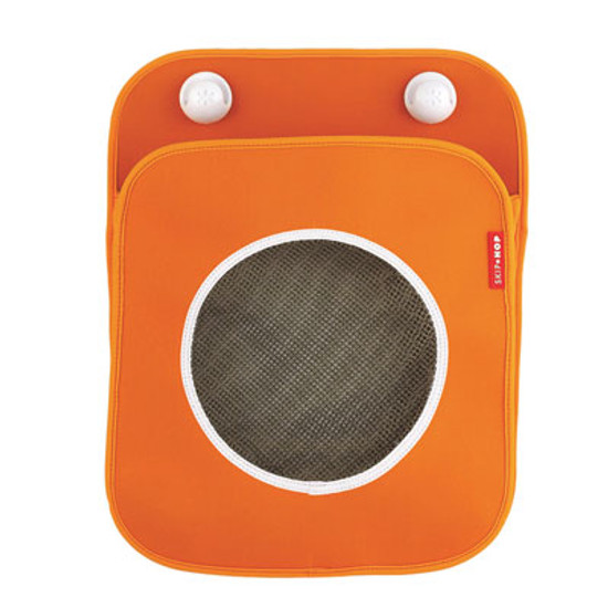 Skip Hop Tubby - Bath Toy Organizer - Orange-3