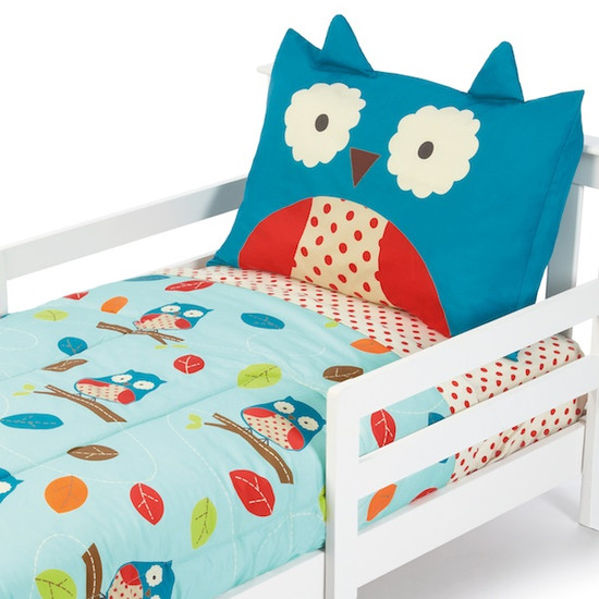 Skip Hop Zoo 4pc Toddler Bedding Set - Owl