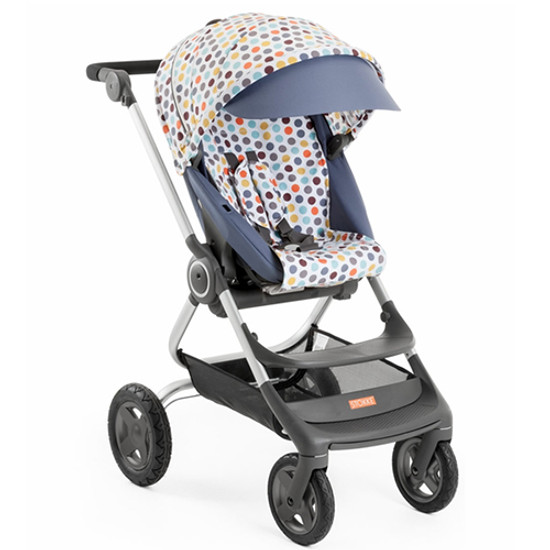 STOKKE Scoot Stroller Style Kit - Retro Dots