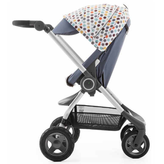 STOKKE Scoot Stroller Style Kit - Retro Dots -2