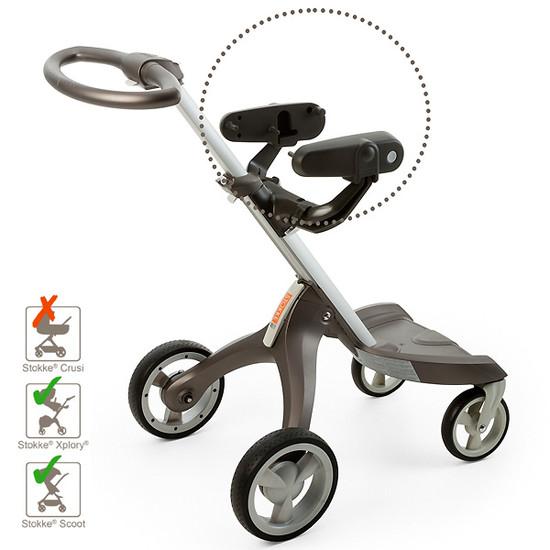 STOKKE Xplory / Scoot / Trailz Car Seat Adapter for Peg Perego -2