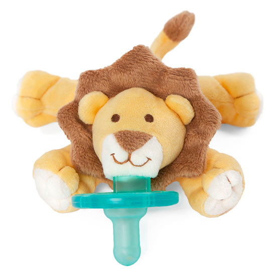 WubbaNub Plush Pacifier - Baby Lion