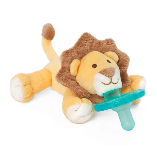 WubbaNub Plush Pacifier - Baby Lion-2