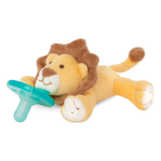 WubbaNub Plush Pacifier - Baby Lion-3