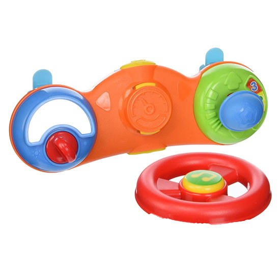 B Kids Baby Drive'N Push Racer