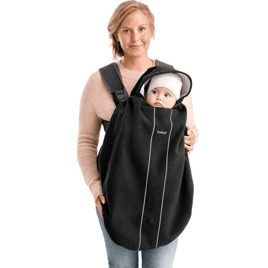Baby Bjorn Baby Carrier Cover - City Black-3