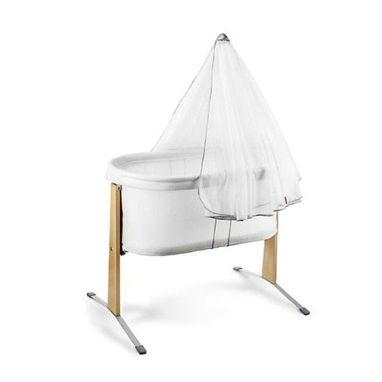 Baby Bjorn Canopy for Cradle - White-2