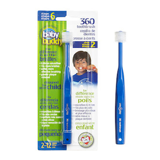 Baby Buddy 360 Toothbrush Stage 6 - Blue
