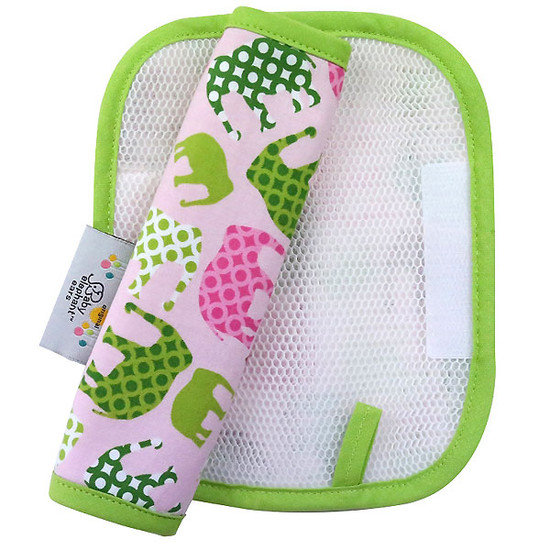 Baby Elephant Ears, Inc. Elephant Strap Cover - Pink-2