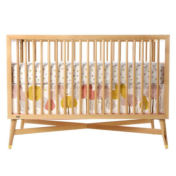 Dwellstudio Treetops Canvas Crib Skirt Kidslandusa Com