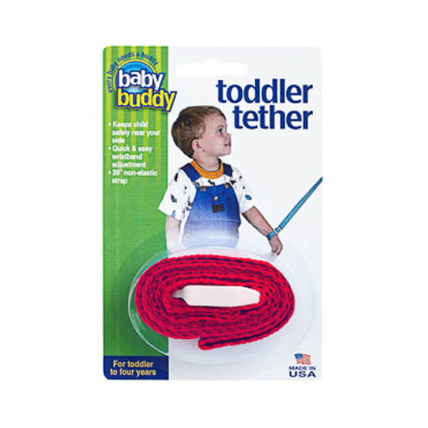 Baby Buddy Toddler Tether - Red