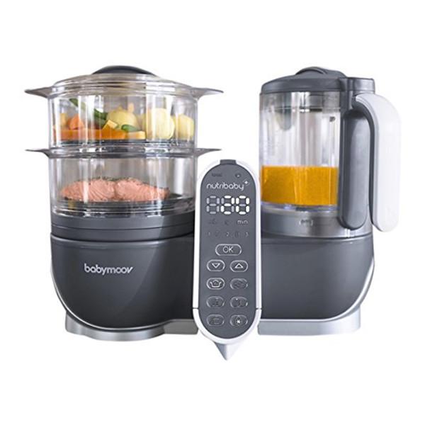 babymoov Duo Meal Station - 5 in 1 Food Maker - Grey