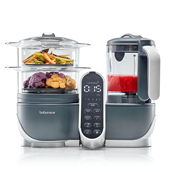 babymoov Duo Meal Station - 5 in 1 Food Maker - Grey-2