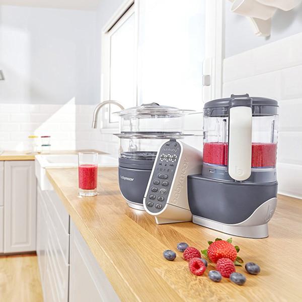 babymoov Duo Meal Station - 5 in 1 Food Maker - Grey-4