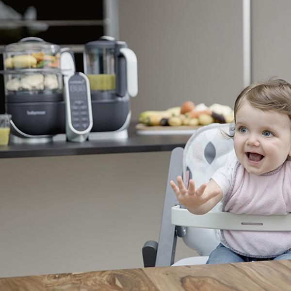 babymoov Duo Meal Station - 5 in 1 Food Maker - Grey-5