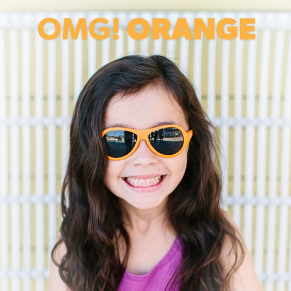 Babiators Baby Sunglass Original Babiators - OMG Orange-3