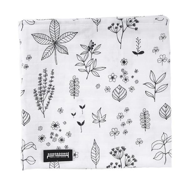Innobaby Dono&Dono Light Muslin Cuddle Blanket - Holly Garden