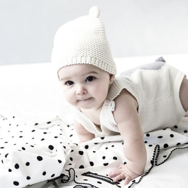 Innobaby Dono&Dono Multi-Purpose Cotton Cuddle Blanket - Black Etoile-3