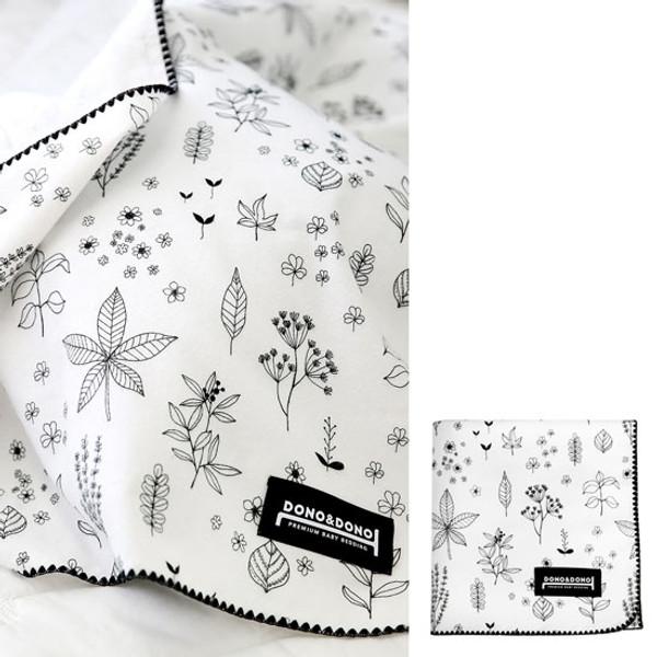 Innobaby Dono&Dono Multi-Purpose Cotton Cuddle Blanket - Holly Garden-2