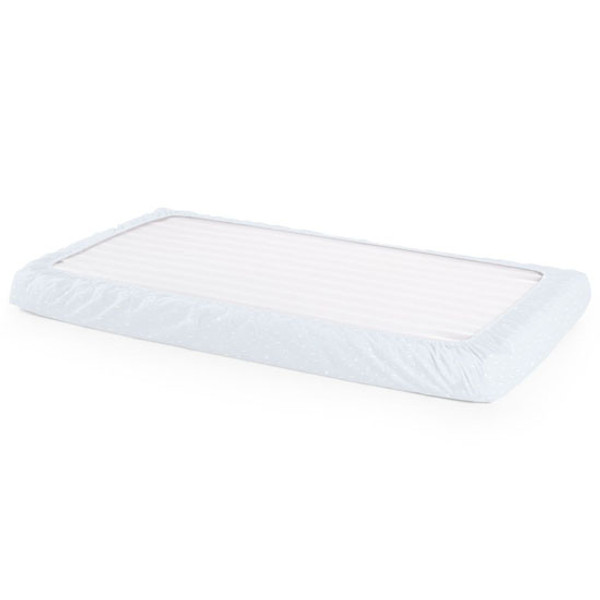 STOKKE Home Crib Fitted Sheet 2 Piece - Blue Sea-2