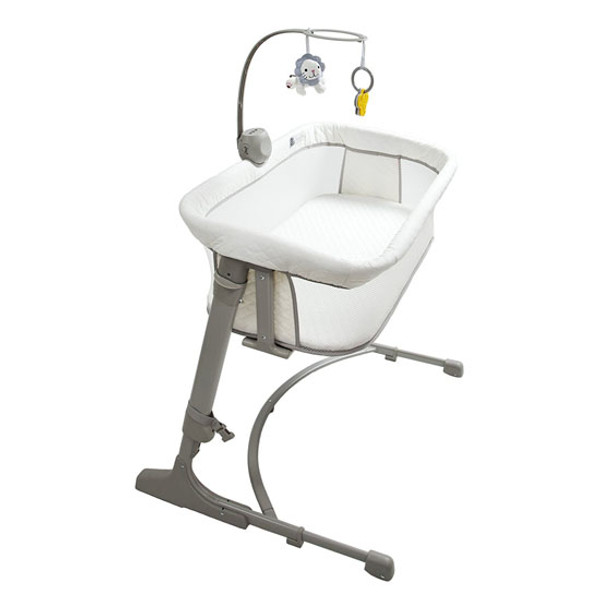 Arm's Reach Versatile Co-Sleeper Bassinet - Ivory/Grey Product