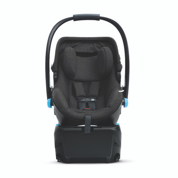 Clek Liing Infant Car Seat - Slate Front View