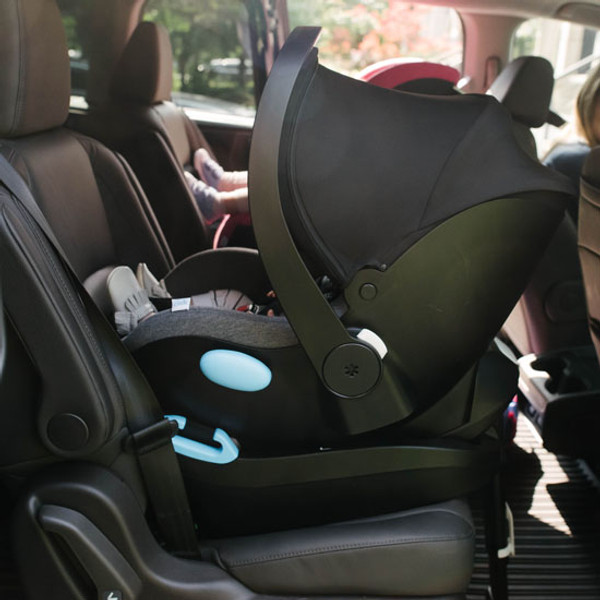 Clek Liing Infant Car Seat -  Slate base is easy to install