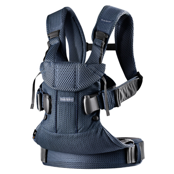 2018 Baby Bjorn Baby Carrier One Air - Navy Blue 3D Mesh Product