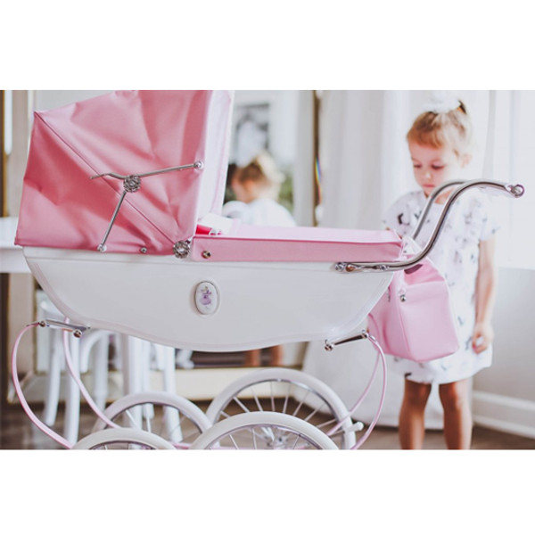 Silver Cross Handmade Princess Doll's Pram Lifestyle