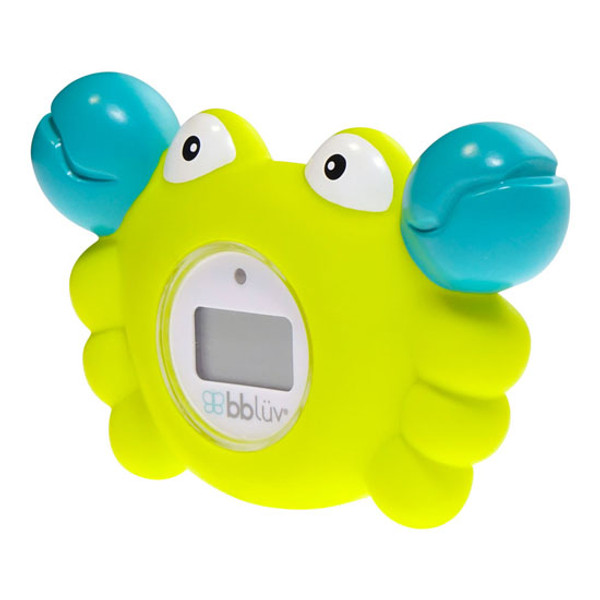 BBLuv Krab 3-in-1 Thermometer & Bath Toy - Celsius-3