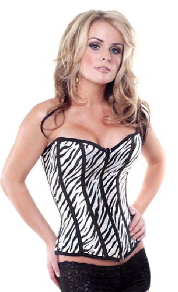 Animal Print Reversible Corset - 2 for the price of 1 - Up to Size 38
