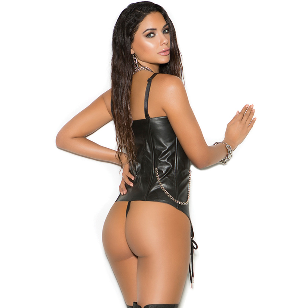 Leather Back