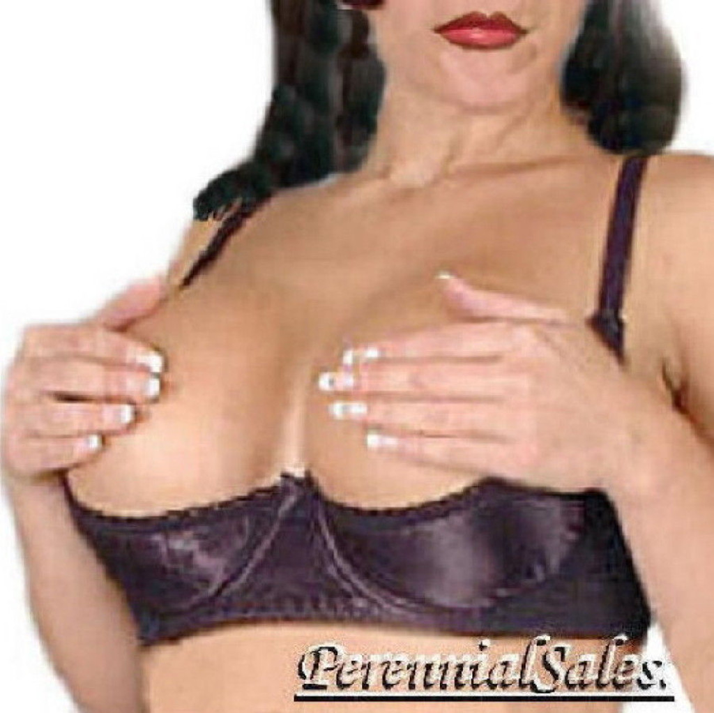 7812d53523960 Shelf Bra - Satin - Fits D   MOST DD Cups - Our Most Popular Bra ...