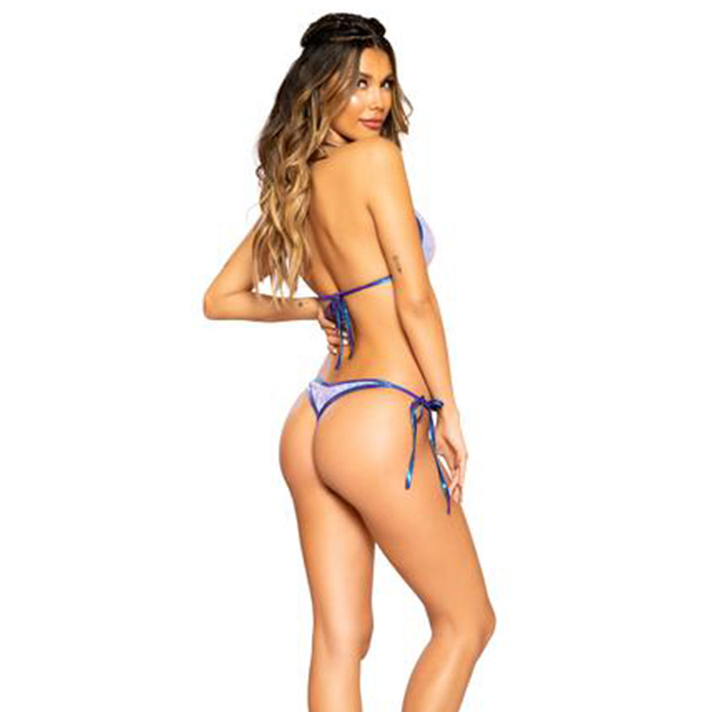2 Piece Bikini Set w/ Ties - Size O/S - Genuine Roma Product