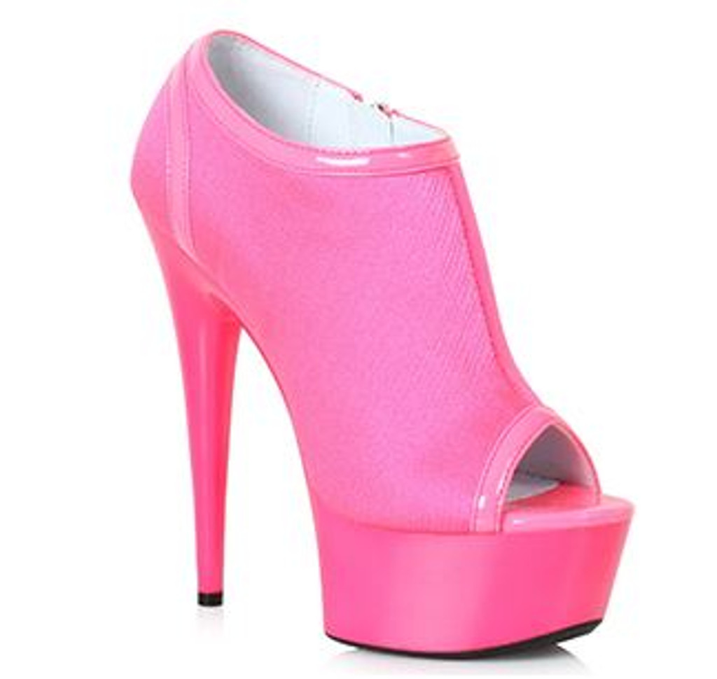 Ankle Bootie in Fuchsia