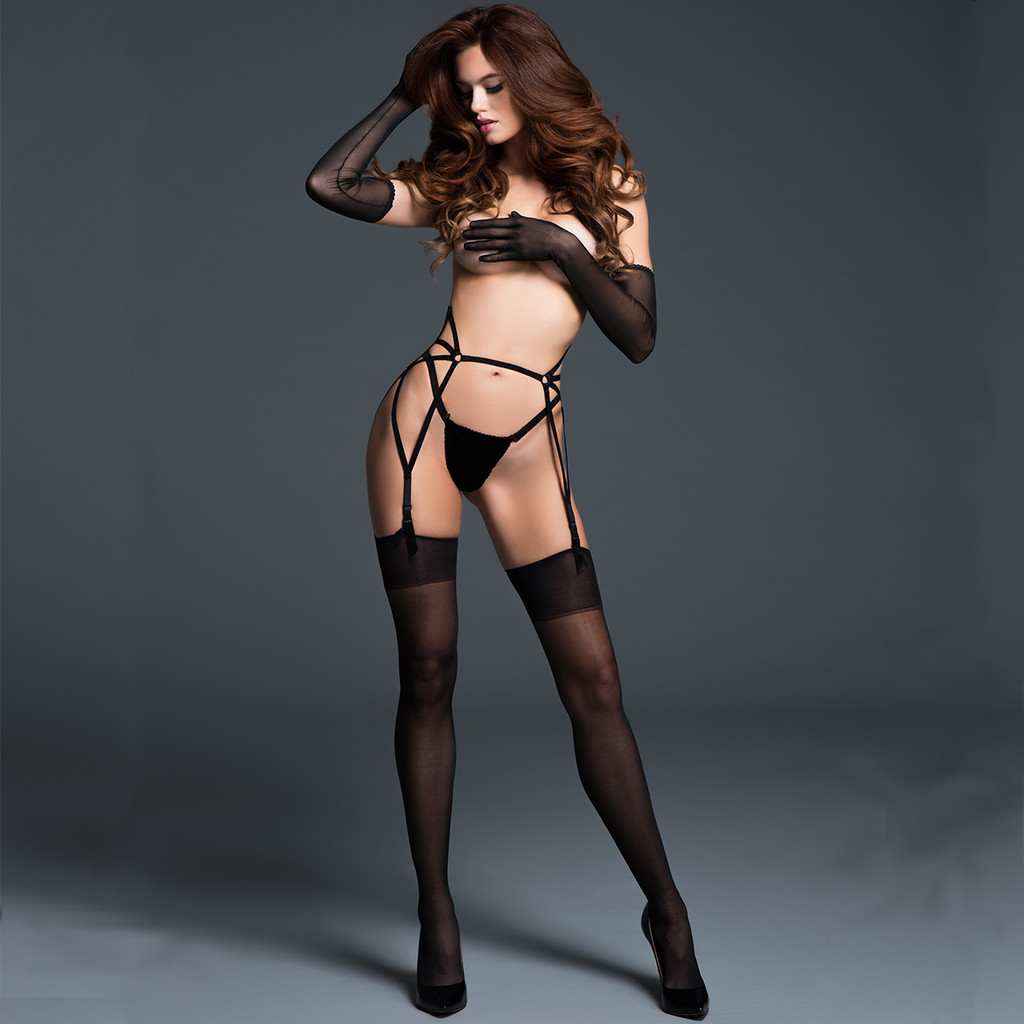Sheer Decadently Sexy Gloves