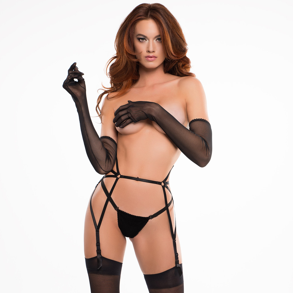 Sheer Gloves - Wear with Anything, or Nothing at all