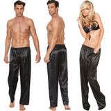 Charmeuse Satin Unisex Pants
