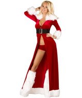 XMas Long Robe - Front -  © 2016 Roma Costumes, Inc.