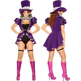Mad Hatter Costume - Front / Back  -  © 2016 Roma Costumes, Inc.