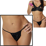 Luster Lace G-String