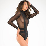 Seductively Sheer & Cheeky Body Suit