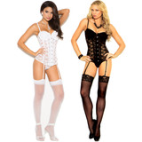 Lace Bustier w G-String