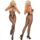 Open Bust Body Stocking