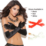 Satin Opera Length Gloves